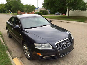 2007 Audi A6, FULLY LOADED, BACK UP CAMERA