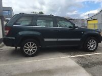 2007 JEEP GRAND CHEROKEE OVERLAND 3.0 CRD 4x4 AUTOMATIC FULLY LOADED PX