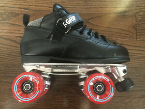 Sure grip derby roller skates