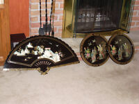 ORIENTAL THEMED DECORATIONS –ART – COLLECTABLES &  ACCENTS
