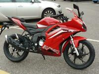 Keeway RKR125 Sports street learner legal 125cc