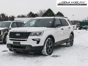2018 Ford Explorer Sport 4WD  - Sunroof - $201.24 /Wk