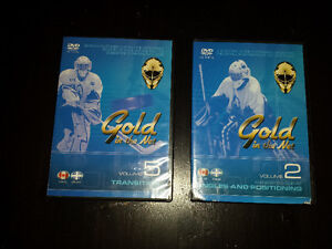 "Two ""Gold in the Net"" DVDs"