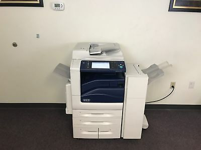 Xerox Workcentre 7835 Color Copier Machine Network Printer Scanner Fax Finisher