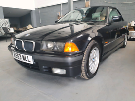 Bmw e36 323i convertible with hard top