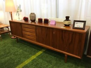 Vintage mid century teak, rosewood, walnut, and Danish furniture