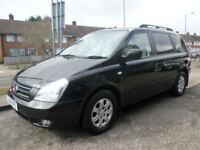 2008 Kia Sedona 2.9CRDi LS 5DR 08REG Diesel Black