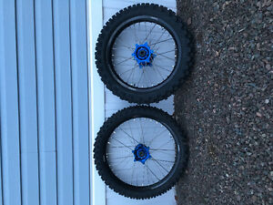 YZ 250F tire and wheel package