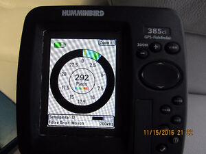 GPS FISHFINDER  HUMMINBIRD COMBO 385 CIX