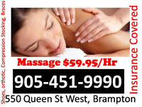 Massage Open 7 Days, insurance eligible