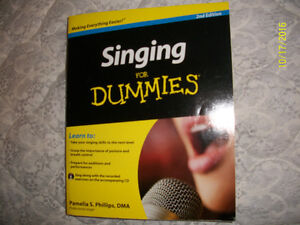 """""""Singing for dummies"""" book"""