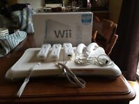 New price - Wii with many extras