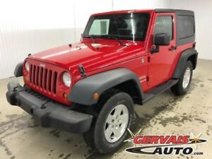 Jeep Wrangler Sport A/C MAGS *Deux Toits* 2011