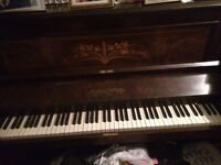 Upright Chestnut piano *FREE*