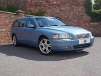 2005 Volvo V70 Estate 2.4D5 163 SE 6Spd Diesel blue Manual
