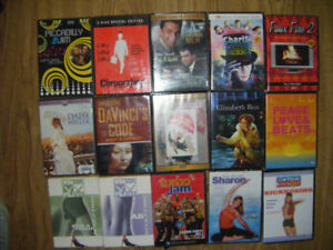 24 Mixed DVDs for sale