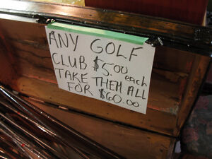 Golf Club Clearance $5 each Cambridge Kitchener Area image 3