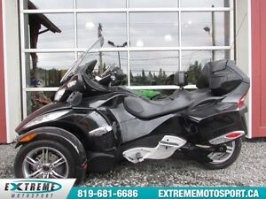 2010 Can-Am Spyder RTS SM5 57,60$/SEMAINE