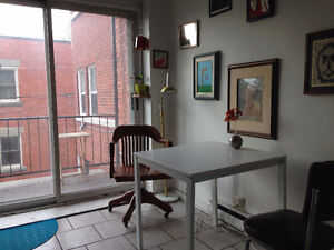 Montreal-Rosemont- Available now- Libre - 1 bedroom - 1c.à c.