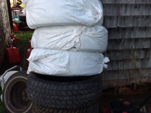 """4- 235-65-16"""" Studded Winter Tires for Sale off SUV"""