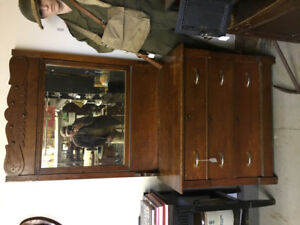 Antique dresser and Miror for sale