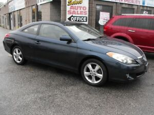 2006 CAMRY SOLARA  COUPE  LEATHER  SUNROOF  63000 KMS