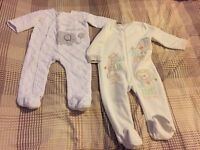 9-12 MONTHS WARM SLEEPSUITS (BOY OR GIRL)