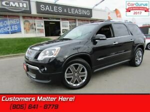 2012 GMC Acadia Denali  AWD, NAVI, DVD, CAMERA, HEADS UP DISPLAY