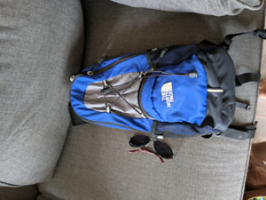 The northface hiking pack