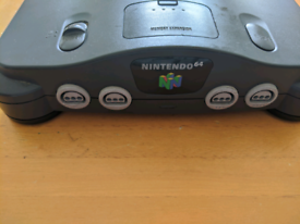 Nintendo 64 Console Only No Wires or Controller