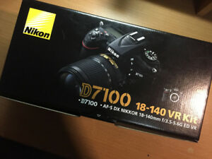 NIKON D7100 + 18-140 VR Kit BNIB BRAND NEW