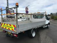 2014 64 FORD TRANSIT 350 LWB TWIN AXLE DROPSIDE VAN