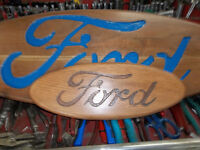 Trade small 16 inch hand made FORD sign for office/man cave