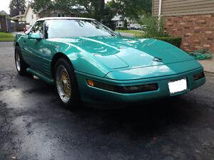 1991 Corvette convertible mint condition Rare Color sale/ trade