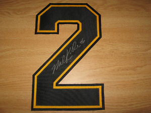 NHL BOSTON BRUINS PRO JERSEY SIGHNED AUTHENTIC NUMBERS Cambridge Kitchener Area image 9