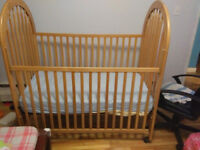 Baby cribs (a used one)
