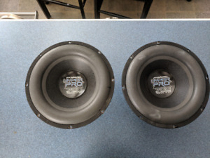 Car stereo, amplifier and sub woofers