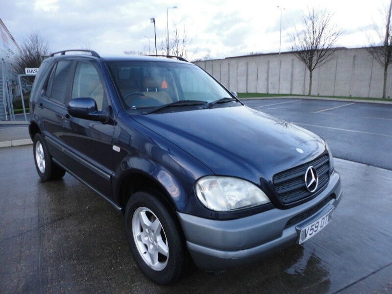 1999 Mercedes Benz Ml 320 7 Passenger Suv Used Cars