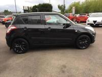 2017 Suzuki Swift 1.2 SZ-L [Nav] 5dr Petrol black Manual