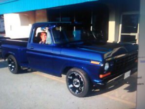 1978 ford f-100 pick up truck  [ trades ]