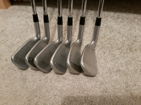 Ping G400 irons 5/PW project X Loading zone 6.0 stiff. Green dot. Swap