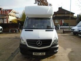 Mercedes-Benz Sprinter 3.5T Luton with Tail Lift DIESEL MANUAL WHITE (2014)