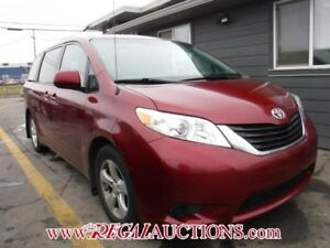 2013 TOYOTA SIENNA LE 4D WAGON 8 PASS LE