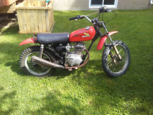 Honda XR 75 antique 1976