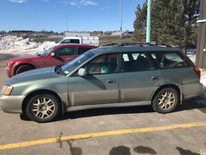 2003 Subaru Outback 3.0l 6 cylinder (sold ppu)