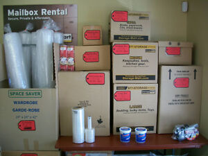 Need Boxes or other moving/storage items?