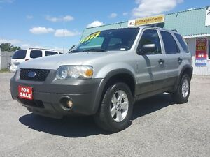 2006 FORD ESCAPE 4X4 SUV *** CERTIFIED *** SALE PRICED $4495
