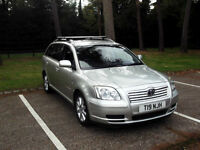 2005 TOYOTA AVENSIS 2.0 D-4D T3-S DIESEL MANUAL ESTATE PX SWAP SWOP