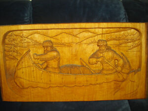 hand carved sculpture wall hangings West Island Greater Montréal image 2