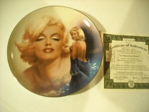 "Marilyn Monroe 8"" Plate - Reflections Of Marilyn, # 12934 Peterborough Peterborough Area image 2"